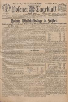 Posener Tageblatt (Posener Warte). Jg.66, Nr. 174 (3 August 1927) + dod.
