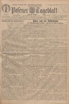 Posener Tageblatt (Posener Warte). Jg.66, Nr. 190 (23 August 1927) + dod.