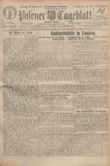 Posener Tageblatt (Posener Warte). Jg.66, Nr. 195 (28 August 1927) + dod.