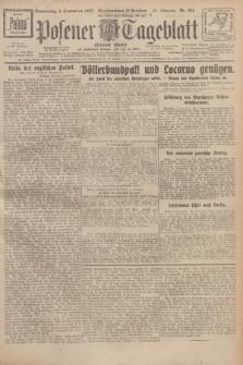 Posener Tageblatt (Posener Warte). Jg.66, Nr. 204 (8 September 1927) + dod.
