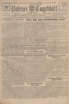 Posener Tageblatt (Posener Warte). Jg.66, Nr. 206 (10 September 1927) + dod.