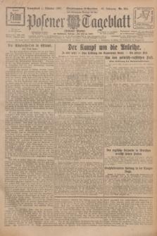 Posener Tageblatt (Posener Warte). Jg.66, Nr. 224 (1 Oktober 1927) + dod.