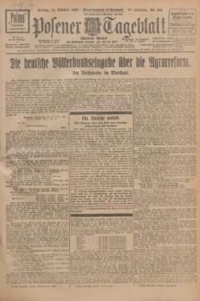 Posener Tageblatt (Posener Warte). Jg.66, Nr. 235 (14 Oktober 1927) + dod.