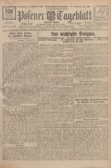 Posener Tageblatt (Posener Warte). Jg.66, Nr. 236 (15 Oktober 1927) + dod.