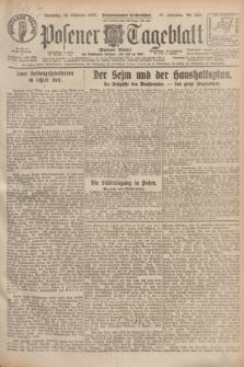 Posener Tageblatt (Posener Warte). Jg.66, Nr. 244 (25 Oktober 1927) + dod.