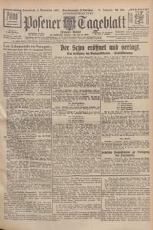 Posener Tageblatt (Posener Warte). Jg.66, Nr. 253 (5 November 1927) + dod.