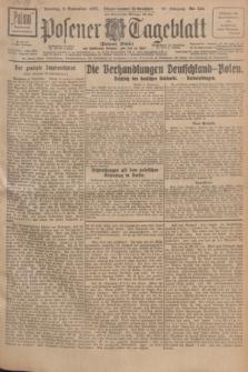 Posener Tageblatt (Posener Warte). Jg.66, Nr. 254 (6 November 1927) + dod.