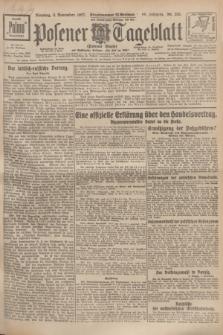 Posener Tageblatt (Posener Warte). Jg.66, Nr. 255 (8 November 1927) + dod.