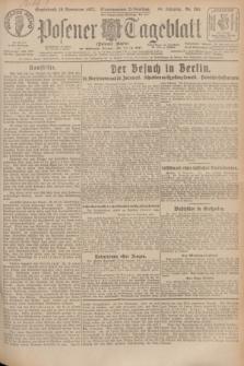 Posener Tageblatt (Posener Warte). Jg.66, Nr. 264 (19 November 1927) + dod.