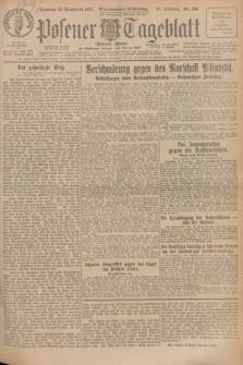 Posener Tageblatt (Posener Warte). Jg.66, Nr. 265 (20 November 1927) + dod.