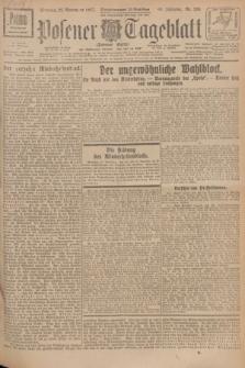Posener Tageblatt (Posener Warte). Jg.66, Nr. 266 (22 November 1927) + dod.