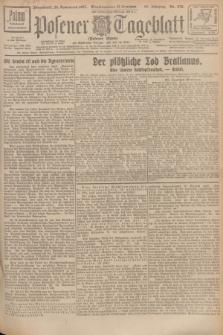 Posener Tageblatt (Posener Warte). Jg.66, Nr. 270 (26 November 1927) + dod.