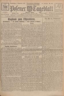 Posener Tageblatt (Posener Warte). Jg.66, Nr. 274 (1 Dezember 1927) + dod.