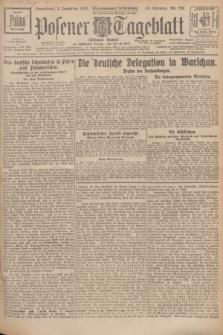Posener Tageblatt (Posener Warte). Jg.66, Nr. 276 (3 Dezember 1927) + dod.