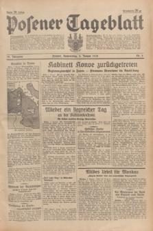 Posener Tageblatt. Jg.78, Nr. 4 (5 Januar 1939) + dod.