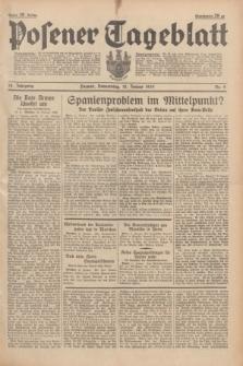 Posener Tageblatt. Jg.78, Nr. 9 (12 Januar 1939) + dod.