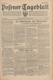 Posener Tageblatt. Jg.78, Nr. 19 (24 Januar 1939) + dod.