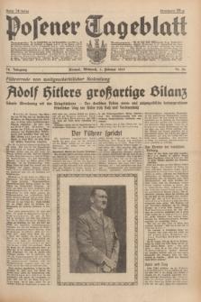Posener Tageblatt. Jg.78, Nr. 26 (1 Februar 1939) + dod.