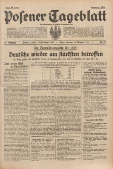 Posener Tageblatt = Poznańska Gazeta Codzienna. Jg.78, Nr. 39 (17 Februar 1939) + dod.