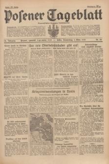 Posener Tageblatt = Poznańska Gazeta Codzienna. Jg.78, Nr. 50 (2 März 1939) + dod.