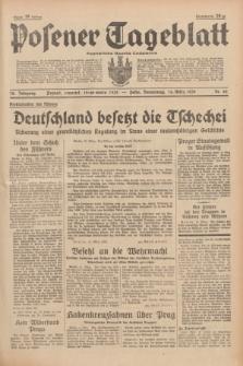 Posener Tageblatt = Poznańska Gazeta Codzienna. Jg.78, Nr. 62 (16 März 1939) + dod.