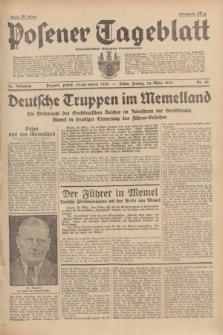 Posener Tageblatt = Poznańska Gazeta Codzienna. Jg.78, Nr. 69 (24 März 1939) + dod.