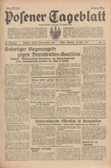 Posener Tageblatt = Poznańska Gazeta Codzienna. Jg.78, Nr. 72 (28 März 1939) + dod.