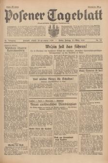 Posener Tageblatt = Poznańska Gazeta Codzienna. Jg.78, Nr. 75 (31 März 1939) + dod.