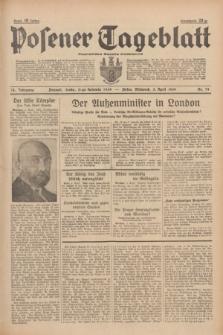 Posener Tageblatt = Poznańska Gazeta Codzienna. Jg.78, Nr. 79 (5 April 1939) + dod.
