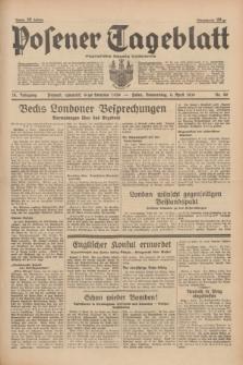 Posener Tageblatt = Poznańska Gazeta Codzienna. Jg.78, Nr. 80 (6 April 1939) + dod.