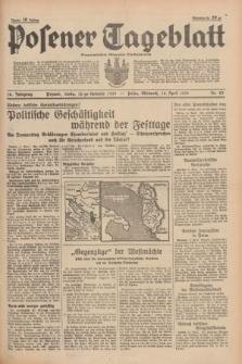 Posener Tageblatt = Poznańska Gazeta Codzienna. Jg.78, Nr. 83 (12 April 1939) + dod.