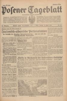 Posener Tageblatt = Poznańska Gazeta Codzienna. Jg.78, Nr. 85 (14 April 1939) + dod.