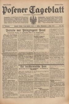 Posener Tageblatt = Poznańska Gazeta Codzienna. Jg.78, Nr. 126 (3 Juni 1939) + dod.