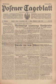 Posener Tageblatt = Poznańska Gazeta Codzienna. Jg.78, Nr. 129 (7 Juni 1939) + dod.