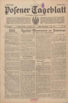 Posener Tageblatt = Poznańska Gazeta Codzienna. Jg.78, Nr. 148 (1 Juli 1939) + dod.