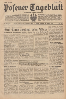 Posener Tageblatt = Poznańska Gazeta Codzienna. Jg.78, Nr. 186 (15 August 1939) + dod.