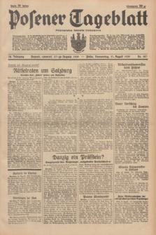 Posener Tageblatt = Poznańska Gazeta Codzienna. Jg.78, Nr. 187 (17 August 1939) + dod.