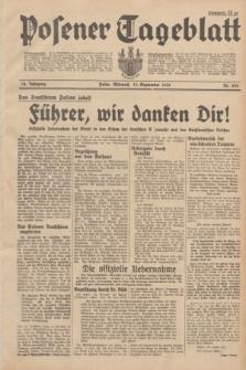 Posener Tageblatt. Jg.78, Nr. 203 (13 September 1939)