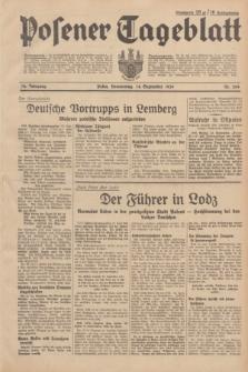 Posener Tageblatt. Jg.78, Nr. 204 (14 September 1939)