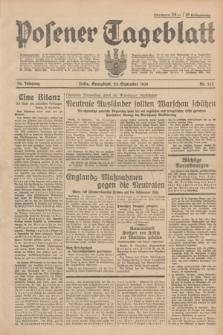 Posener Tageblatt. Jg.78, Nr. 213 (23 September 1939)
