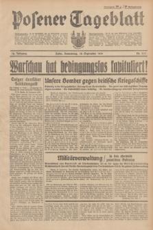 Posener Tageblatt. Jg.78, Nr. 217 (28 September 1939)