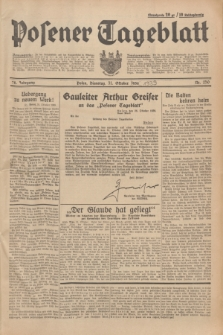 Posener Tageblatt. Jg.78, Nr. 250 (31 Oktober 1939)