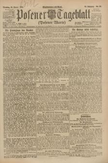 Posener Tageblatt (Posener Warte). Jg.62, Nr. 23 (30 Januar 1923) + dod.