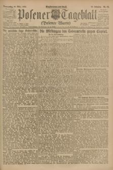 Posener Tageblatt (Posener Warte). Jg.62, Nr. 72 (29 März 1923) + dod.