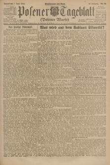 Posener Tageblatt (Posener Warte). Jg.62, Nr. 78 (7 April 1923) + dod.
