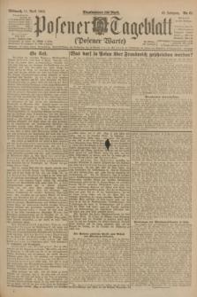 Posener Tageblatt (Posener Warte). Jg.62, Nr. 81 (11 April 1923) + dod.