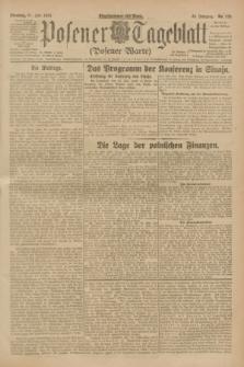 Posener Tageblatt (Posener Warte). Jg.62, Nr. 170 (31 Juli 1923) + dod.