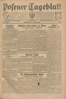 Posener Tageblatt. Jg.68, Nr. 2 (3 Januar 1929) + dod.