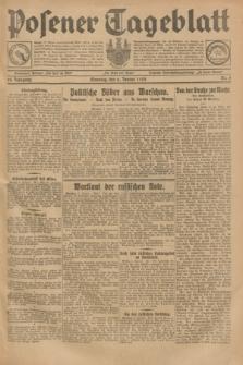 Posener Tageblatt. Jg.68, Nr. 5 (6 Januar 1929) + dod.