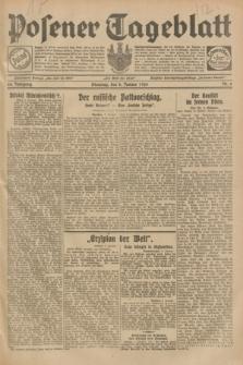 Posener Tageblatt. Jg.68, Nr. 6 (8 Januar 1929) + dod.